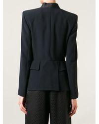 Alexander McQueen | Black Shawl Collar Blazer | Lyst
