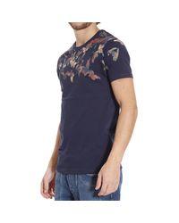 Frankie Morello - Blue T-shirt for Men - Lyst