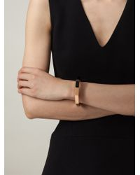 Vita Fede | Black Octagon Stone Bangle | Lyst