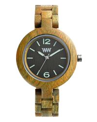 WeWood | Brown 'mimosa' Wood Bracelet Watch | Lyst