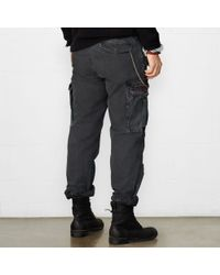 Denim & Supply Ralph Lauren | Black Men's Field Cargo Pants for Men | Lyst