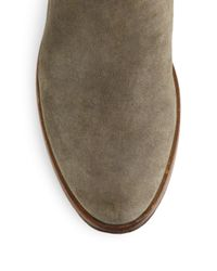 Rag & Bone - Gray Holly Suede Ankle Boots - Lyst