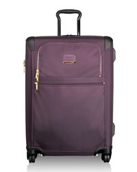 Tumi - Purple Alpha 2 Aubergine Short-trip Expandable 4-wheeled Packing Case for Men - Lyst