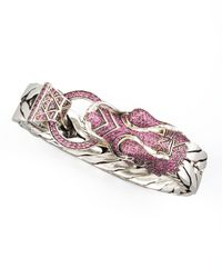 John Hardy - Metallic Naga Dragon Head Bracelet - Lyst