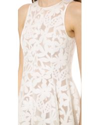 Rochas - White Dress  - Lyst