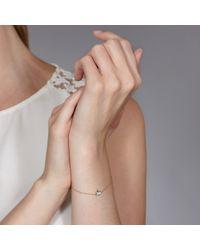 Hillier - Metallic Pretty Pave Bunny Bracelet - Lyst