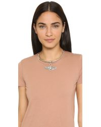 Pamela Love - Metallic Aguila Choker Necklace - Antique Silver - Lyst