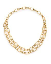 Marco Bicego | Metallic Murano 18k Yellow Gold Convertible Link Necklace | Lyst