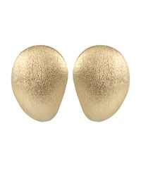Yvel - Metallic Medium Handmade 18k Yellow Gold Earrings - Lyst
