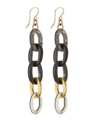 Ashley Pittman - Metallic Mara Chain Earrings - Lyst
