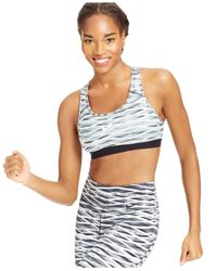 Nike | Black Pro Printed Sports Bra | Lyst