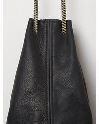 Free People - Black Christie Bucket Bag - Lyst