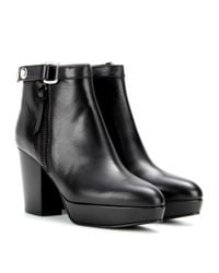 Acne | Black Orbit Ankle Boot | Lyst