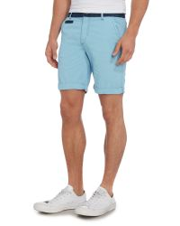 Blend | Blue Chino Shorts for Men | Lyst