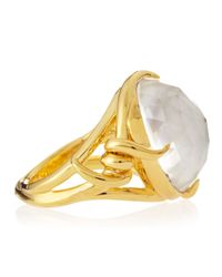Stephen Webster - Yellow 14k Vermeil Forget-me-knot Barb Ring - Lyst