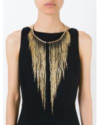 Rosantica | Metallic Cascade Necklace | Lyst