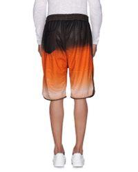 Paura - Orange Bermuda Shorts for Men - Lyst