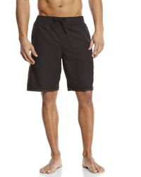 Adidas | Black Core Sport Volley Board Shorts for Men | Lyst