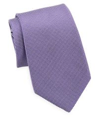 MICHAEL Michael Kors | Purple Chainlinks Tie for Men | Lyst