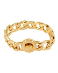 Kenneth Cole | Metallic Chain Link Bracelet | Lyst