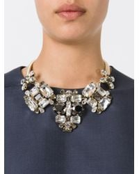 DSquared² - Metallic Embellished Necklace - Lyst