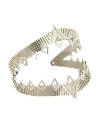 House of Harlow 1960 - Metallic Armor Cuff - Lyst