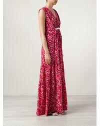 Saloni | Red Anouk Maxi Dress | Lyst