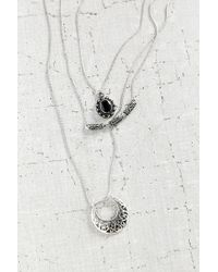 Urban Outfitters - Metallic Triple Threat Layering Necklace Set - Lyst