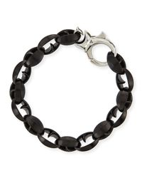 Stephen Webster | Black Steel Thorn Link Bracelet | Lyst
