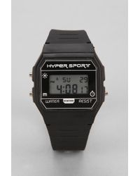 Urban Outfitters | Black Hyper Sport Digital Watch for Men | Lyst
