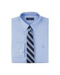 Polo Ralph Lauren - Blue Slim-fit Stretch Oxford Shirt for Men - Lyst