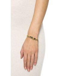 Eddie Borgo | Black Double Wrap Collage Bracelet - Onyx Jet/freshwater Pearl | Lyst