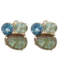 Stephen Dweck - Blue Topaz Earrings - Lyst