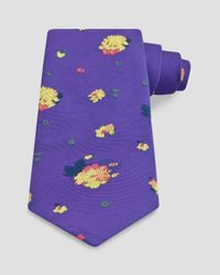 Thomas Pink | Purple Mitcham Flower Classic Tie for Men | Lyst