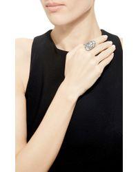 Sidney Garber | Metallic Buckler Ring | Lyst