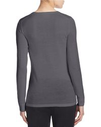 Lord & Taylor | Multicolor Petite Merino Wool Basic Crewneck Sweater | Lyst