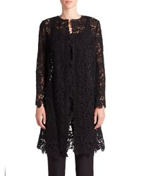 Ralph Lauren | Black Label Thora Lace Duster | Lyst