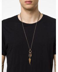 Roman Paul | Metallic Bronze Wing Necklace for Men | Lyst