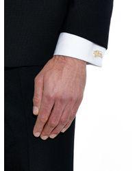 Burberry Brit - Metallic Equestrian Knight Cufflinks for Men - Lyst