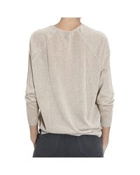 Pinko - Natural Sweater - Lyst