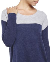 Joie | Blue Camilla Color Block Sweater | Lyst