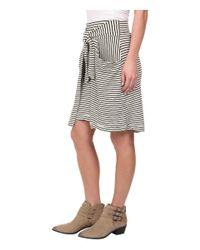 Free People - Natural All Tied Up Skirt - Lyst