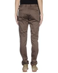 AT.P.CO - Brown Casual Trouser for Men - Lyst