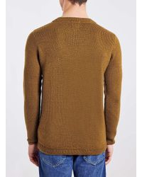 TOPMAN | Selected Homme Brown Sweater for Men | Lyst