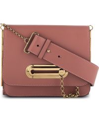Jean Paul Gaultier - Porte Travers Leather Crossbody Bag Powder Pink - Lyst