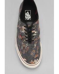 Vans - Black Authentic Printed Mens Sneaker for Men - Lyst