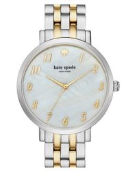 kate spade new york | Metallic 'monterey' Bracelet Watch | Lyst