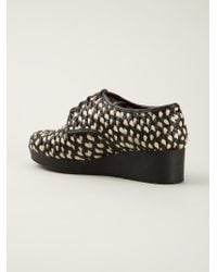 Robert Clergerie | Black 'Azor' Lace-Up Shoes | Lyst