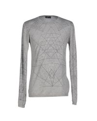 John Richmond | Gray Jumper for Men | Lyst