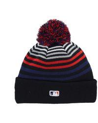 KTZ - Minnesota Twins Blackout Stripe Pom Knit Hat for Men - Lyst